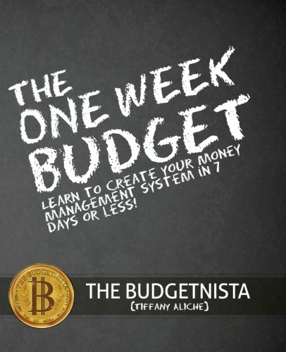 Book Cover: The One Week Budget
