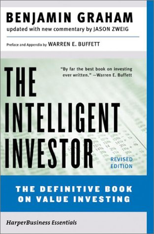 Book Cover: The Intelligent Investor by Benjamin Graham